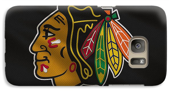 Chicago Blackhawks Uniform Galaxy S7 Case
