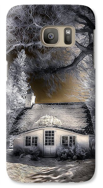 Galaxy Case featuring the photograph Children's Cottage by Steve Zimic