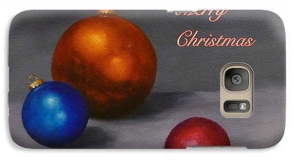 Galaxy Case featuring the painting Christmas Glow by Jo Appleby