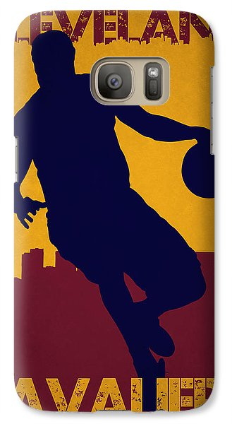 Cleveland Cavaliers Lebron James Galaxy S7 Case
