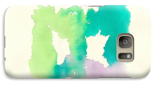 Galaxy Case featuring the painting Cocoon by Frank Bright