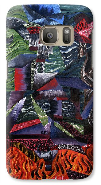 Galaxy Case featuring the painting Cocytemensia by Ryan Demaree