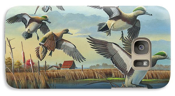Galaxy Case featuring the painting Coming Home by Mike Brown