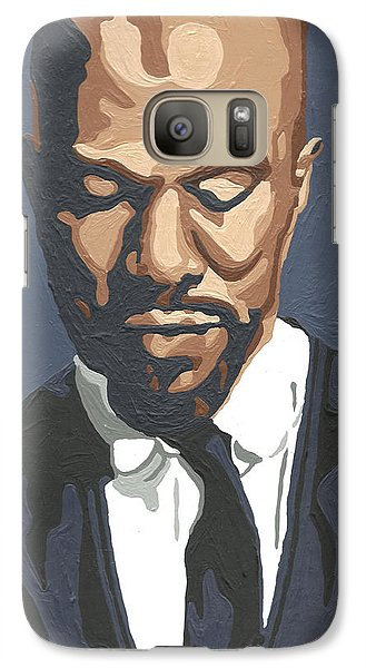 Galaxy Case featuring the painting Common by Rachel Natalie Rawlins