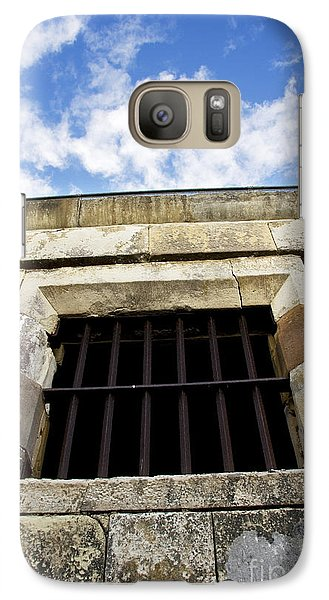 Dungeon Galaxy S7 Case - Convict Cell by Jorgo Photography - Wall Art Gallery