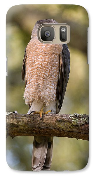 Galaxy Case featuring the photograph Cooper's Hawk by Doug Herr