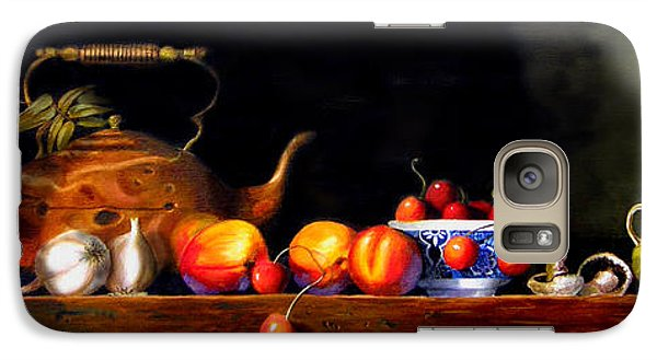 Galaxy Case featuring the painting Cornucopia 2 by Barry Williamson