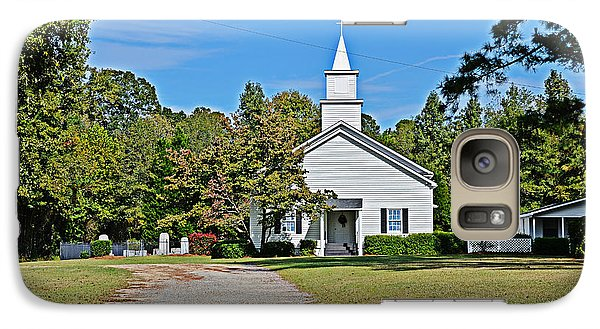 Galaxy Case featuring the photograph Country Church by Linda Brown