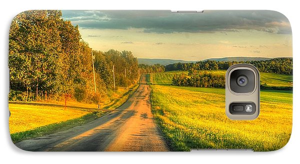 Galaxy Case featuring the photograph Country Road by Ed Roberts