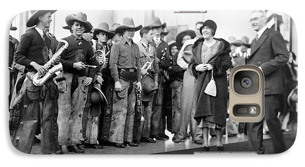 Cowboy Band, 1929 Galaxy Case by Granger