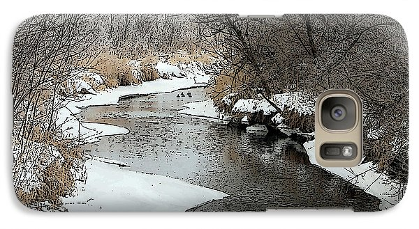Galaxy Case featuring the photograph Creek by Debbie Hart
