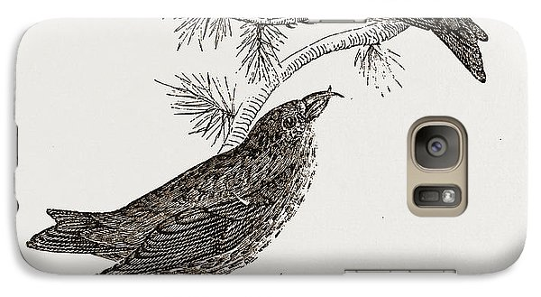 Crossbill Galaxy S7 Case - Crossbills by Litz Collection