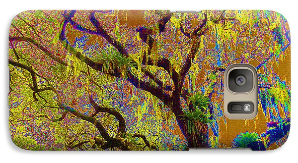 Galaxy Case featuring the photograph Cypress by Ann Johndro-Collins