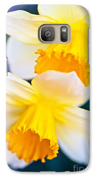Galaxy Case featuring the photograph Daffodils by Roselynne Broussard