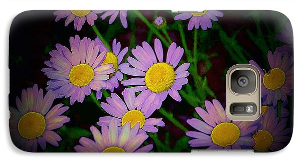 Galaxy Case featuring the photograph Daisies I by Shirley Moravec
