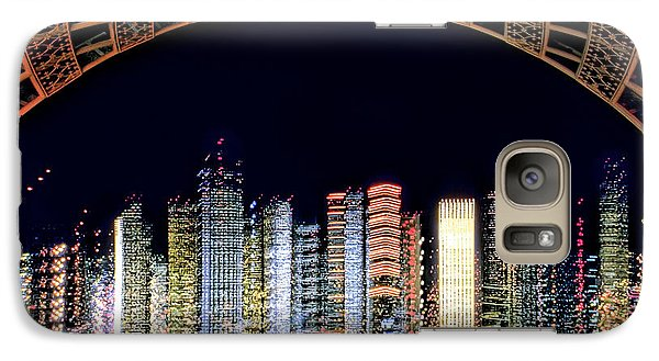 Galaxy Case featuring the photograph Dallas At Night by David Perry Lawrence