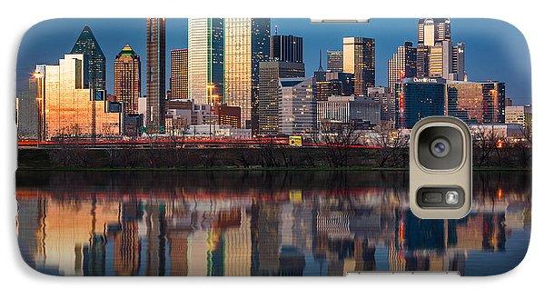 Dallas Galaxy S7 Case - Dallas Skyline by Mihai Andritoiu