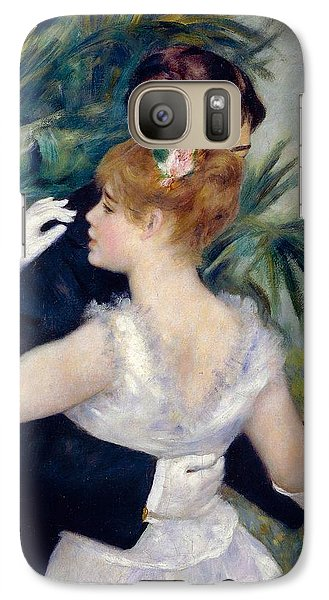 Dance In The City Galaxy Case by Pierre-Auguste Renoir