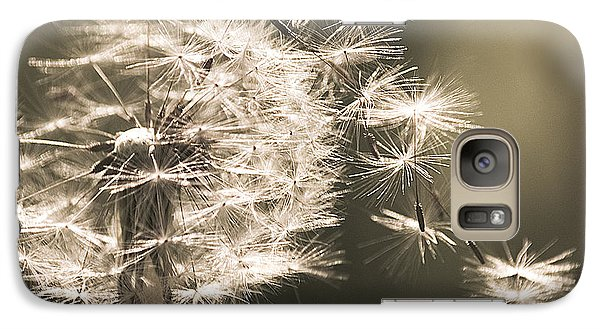 Galaxy Case featuring the photograph Dandelion by Yulia Kazansky