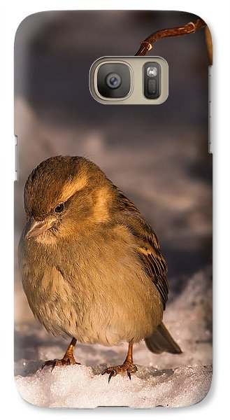 Galaxy Case featuring the photograph Deep In Thought by Rose-Maries Pictures