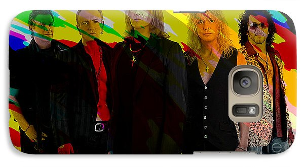 Def Leppard Galaxy S7 Case by Marvin Blaine