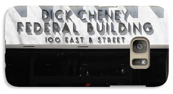 Dick Cheney Federal Bldg. Galaxy Case by Oscar Williams