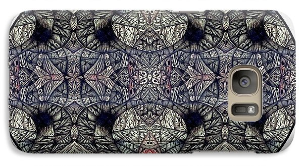 Galaxy Case featuring the drawing Digitized Ballpoint by Jack Dillhunt