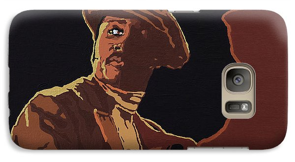 Galaxy Case featuring the painting Donny Hathaway by Rachel Natalie Rawlins