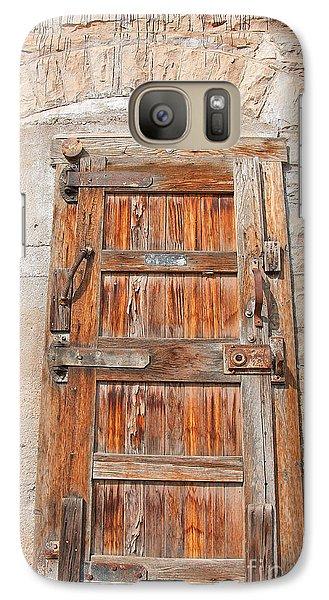 Galaxy Case featuring the photograph Door Series 1 by Minnie Lippiatt