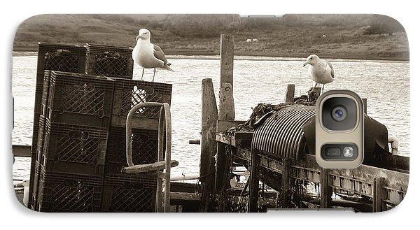 Galaxy Case featuring the photograph Drakes Bay Oyster Farm by Hiroko Sakai
