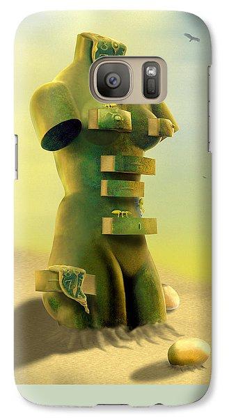 Buzzard Galaxy S7 Case - Drawers by Mike McGlothlen