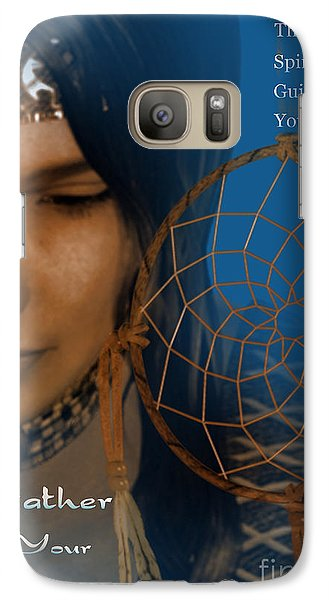 Galaxy Case featuring the digital art Dream Catcher by Shadowlea Is