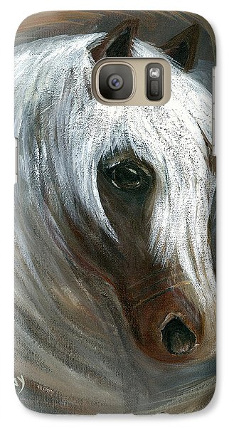 Galaxy Case featuring the painting Dream Weaver by Barbie Batson
