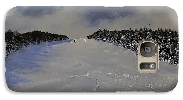 Galaxy Case featuring the painting Drifter by Ken Ahlering