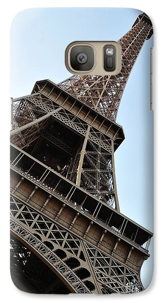 Galaxy Case featuring the photograph Eiffel Tower by Joe  Ng