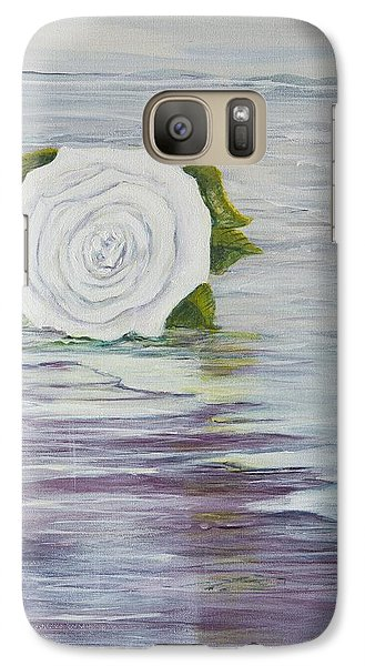 Galaxy Case featuring the painting Ellen Of Yorkshire by Cathy Long