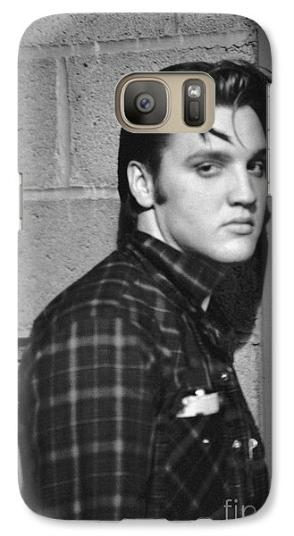 Elvis Presley 1956 Galaxy S7 Case by The Harrington Collection