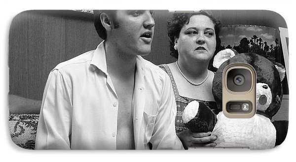 Elvis Presley And His Mother Gladys 1956 Galaxy Case by The Harrington Collection