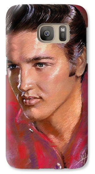 Elvis Presley Galaxy S7 Case - Elvis Presley by Viola El