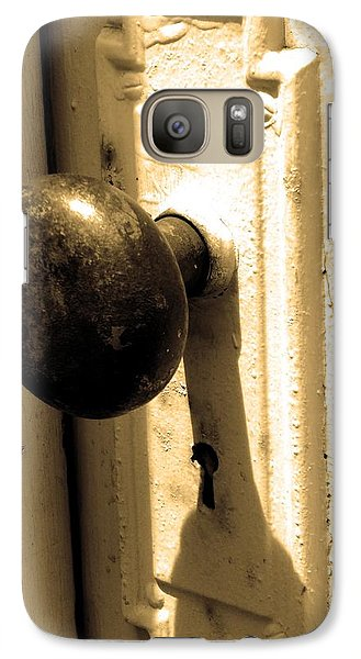 Galaxy Case featuring the photograph Enter by Steve Godleski