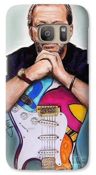 Eric Clapton Galaxy S7 Case by Melanie D