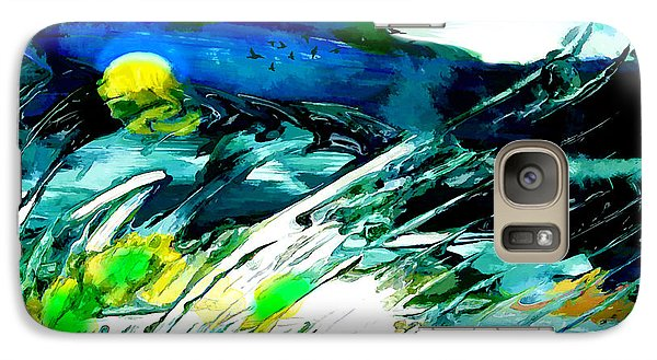 Galaxy Case featuring the painting Esperanto by Ron Richard Baviello