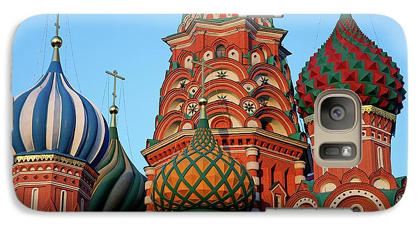 Europe, Russia, Moscow Galaxy S7 Case by Kymri Wilt