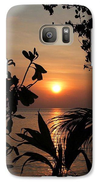 Galaxy Case featuring the photograph Evening Sun by Elizabeth Lock