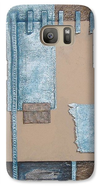 Galaxy Case featuring the mixed media Fading Dreams by Steve  Hester