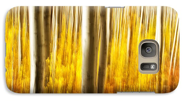 Galaxy Case featuring the photograph Fall Abstract by Ronda Kimbrow