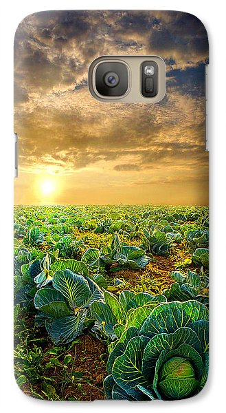 Fall Harvest Galaxy S7 Case by Phil Koch