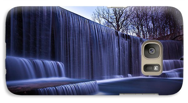 Galaxy Case featuring the photograph Falling Water by Mihai Andritoiu