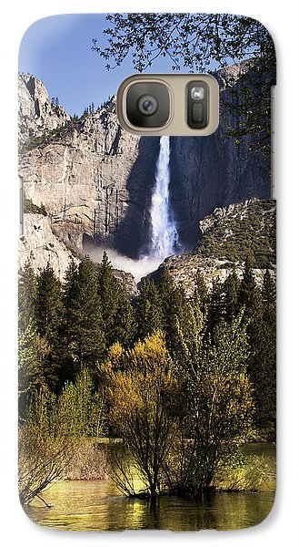 Galaxy Case featuring the photograph Falls Yosemite National Park  by John Hix