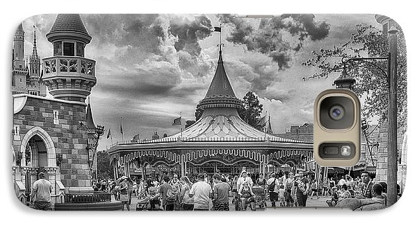 Galaxy Case featuring the photograph Fantasyland by Howard Salmon